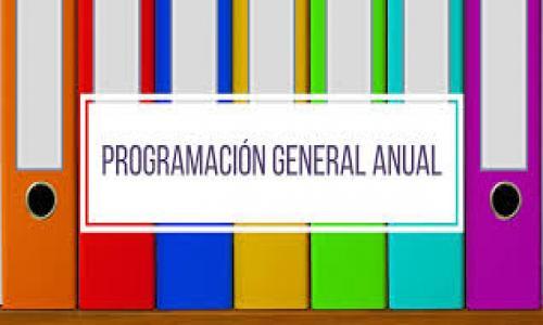 Resultado de imagen de imagen Programación General Anual